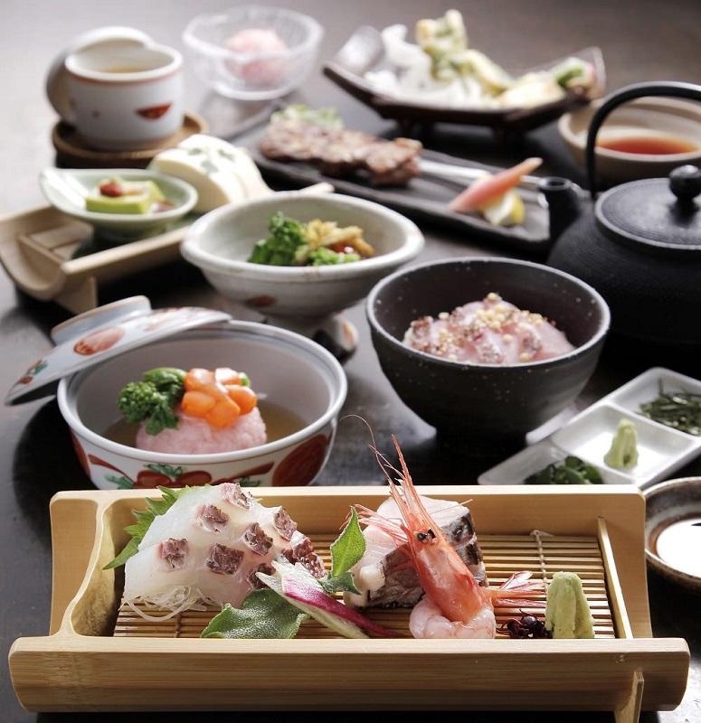 銀座の和食店で豪華食材の歓送迎会