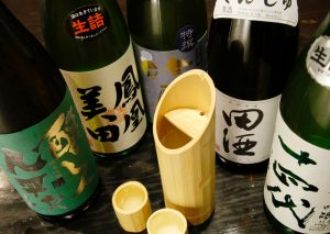 銀座 竹の庵 5丁目本店の厳選日本酒